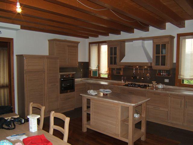 Cucine in rovere sbiancato cucina rovere sbiancato e bianco